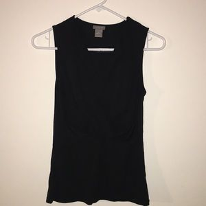Ann Taylor sleeveless dressy top size small